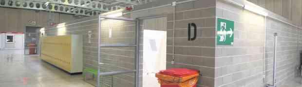 SHUK Structure d'hébergement d'urgence au Kirchberg : Abschiebezentrum