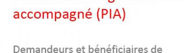 Présentation officielle du PIA