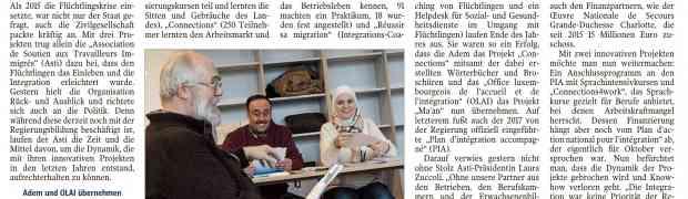 « Ma'an! », « Connections » et « Réussir sa migration »: 3 projets réussis