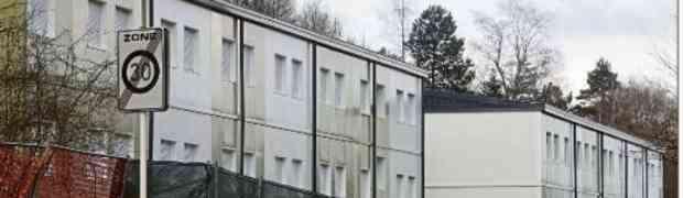 Esch: Flüchtlingsheim vor Fertigstellung