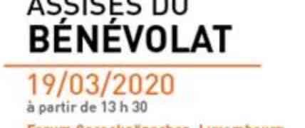 19 mars : Assises du bénévolat  REPORTEES !!!!!!!