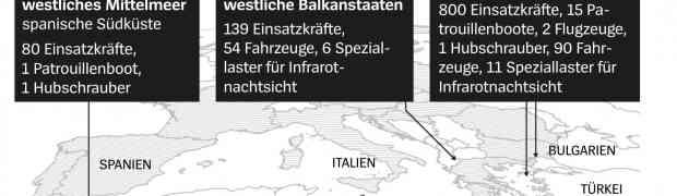 Frontex-Chef Leggeri über Flüchtlingspolitik